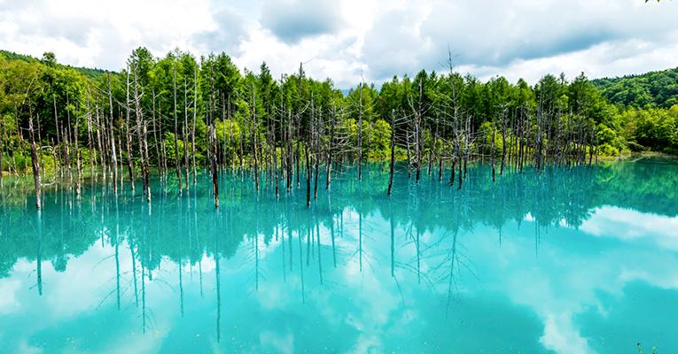 biei lago azul