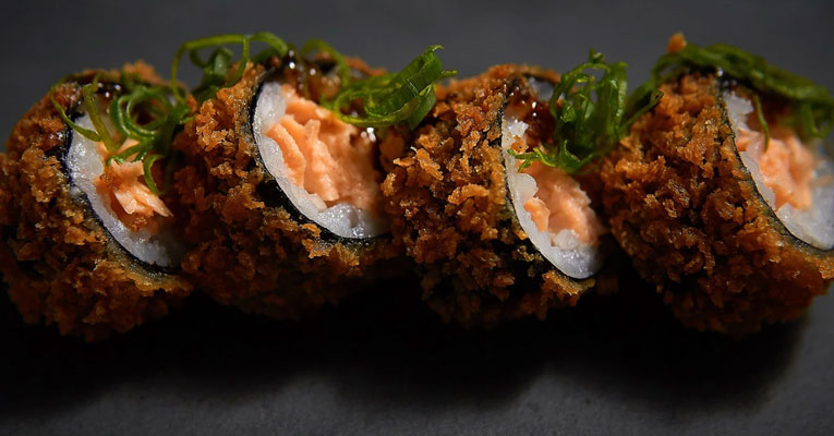 hot roll sushi