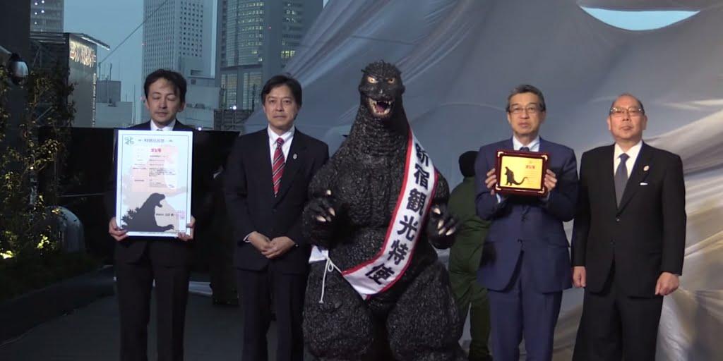 Godzilla ganha cidadania japonesa