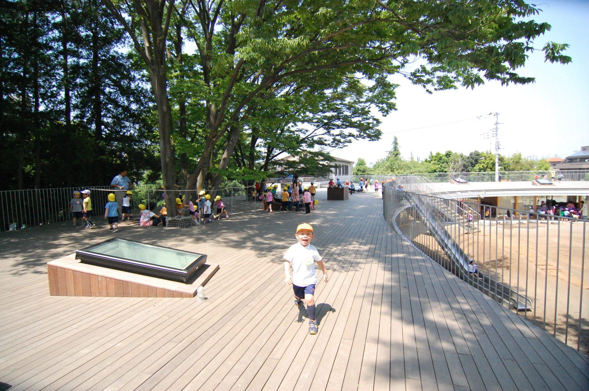 Jardim de infância Japão - melhor do mundo