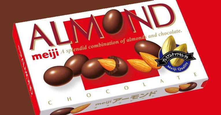 almond meiji