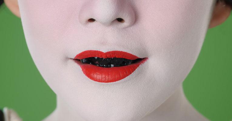 dentes pretos