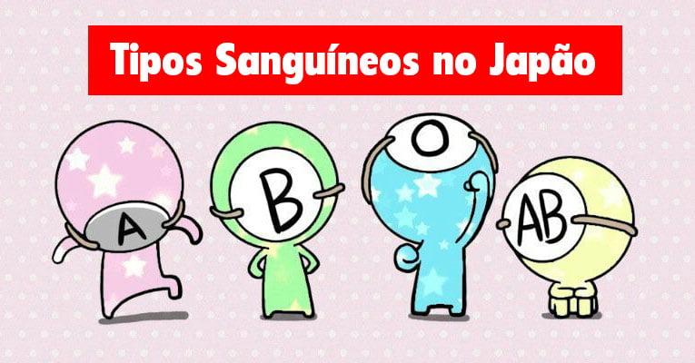 tipos sanguineos japao
