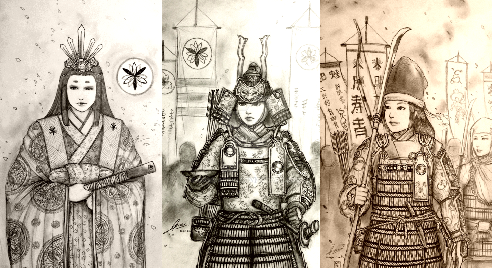 Mulheres samurais