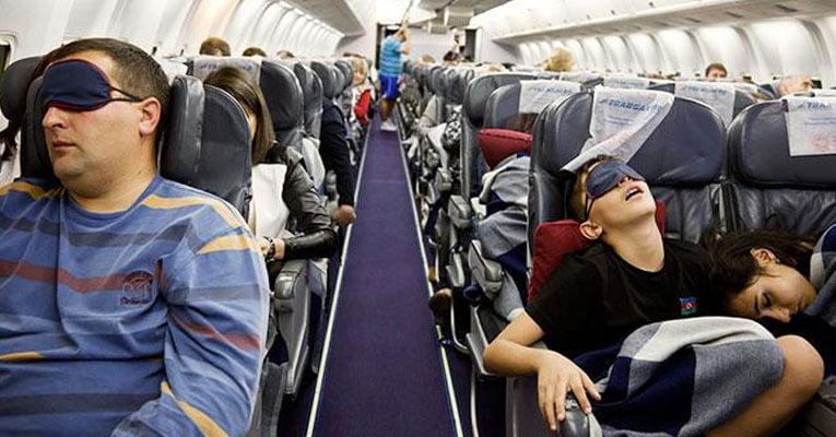 dormir aviao