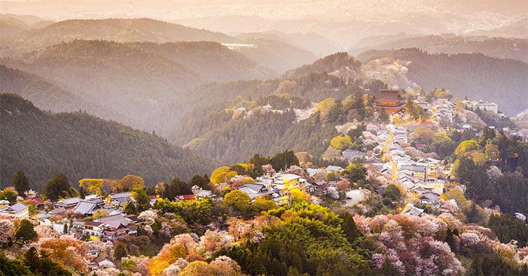 montanhas do Japão