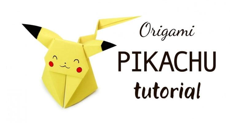 pikachu origami