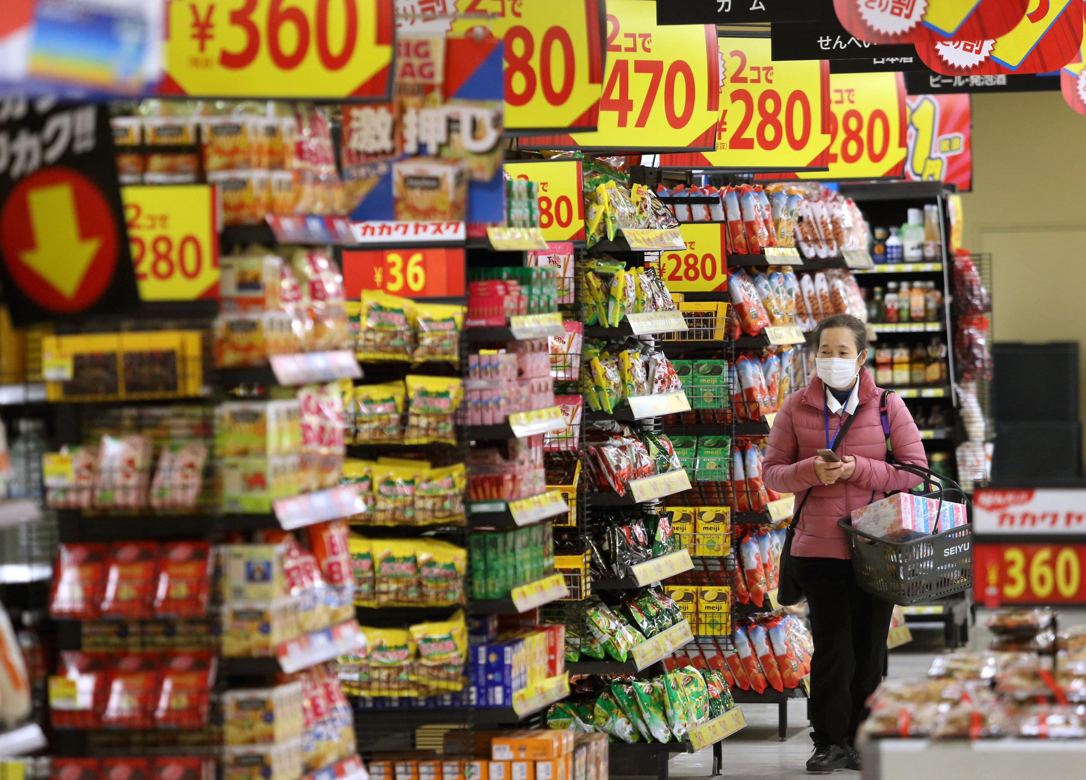 Preço no Japão