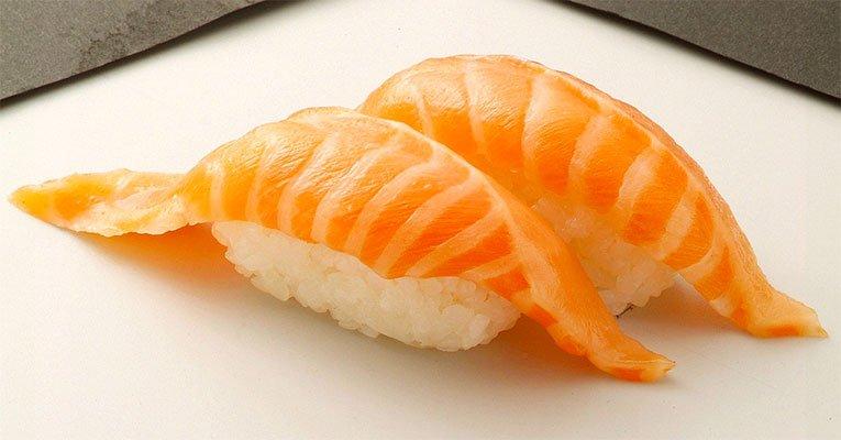sushi salmao