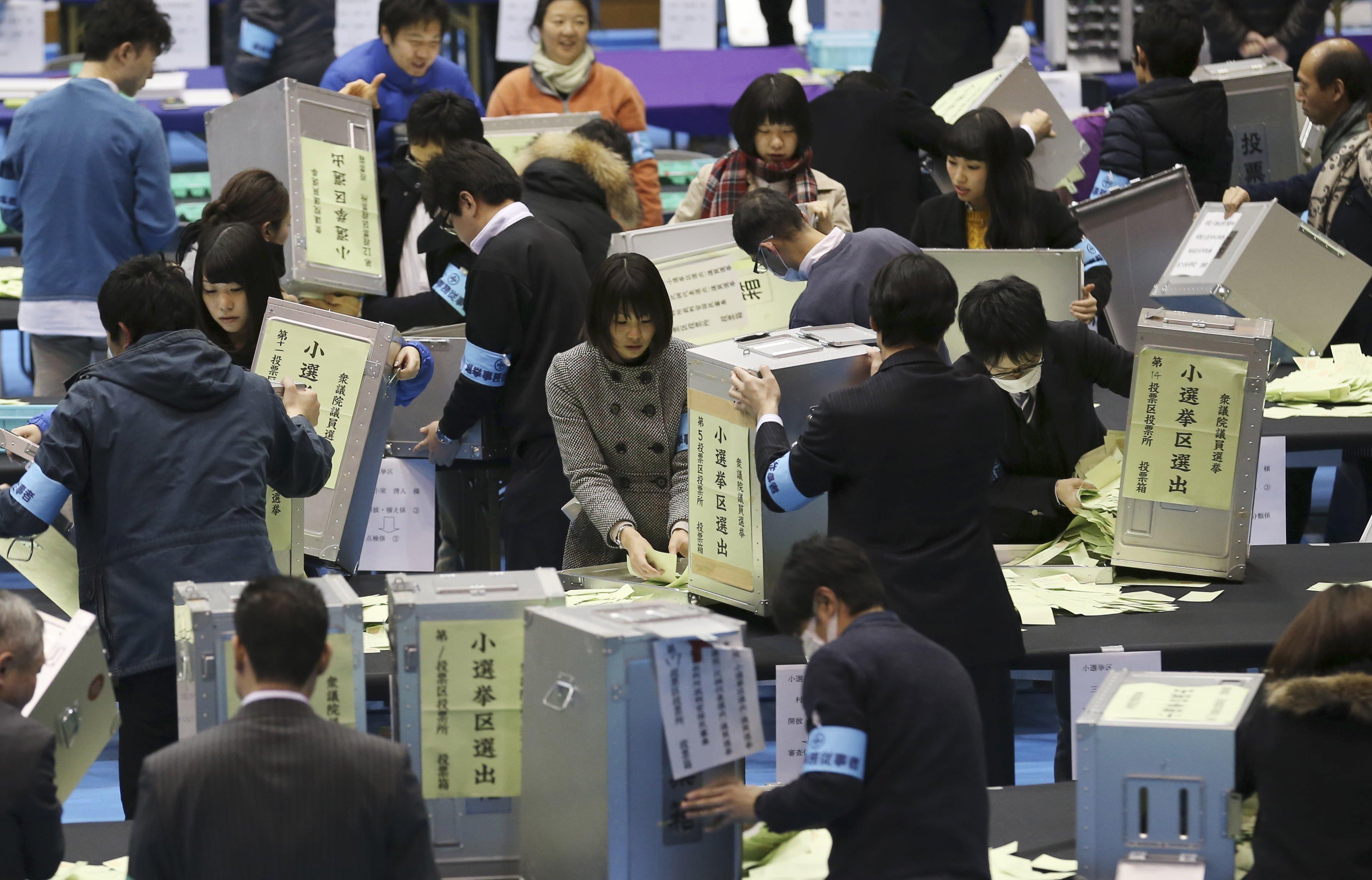 Eleições no Japão