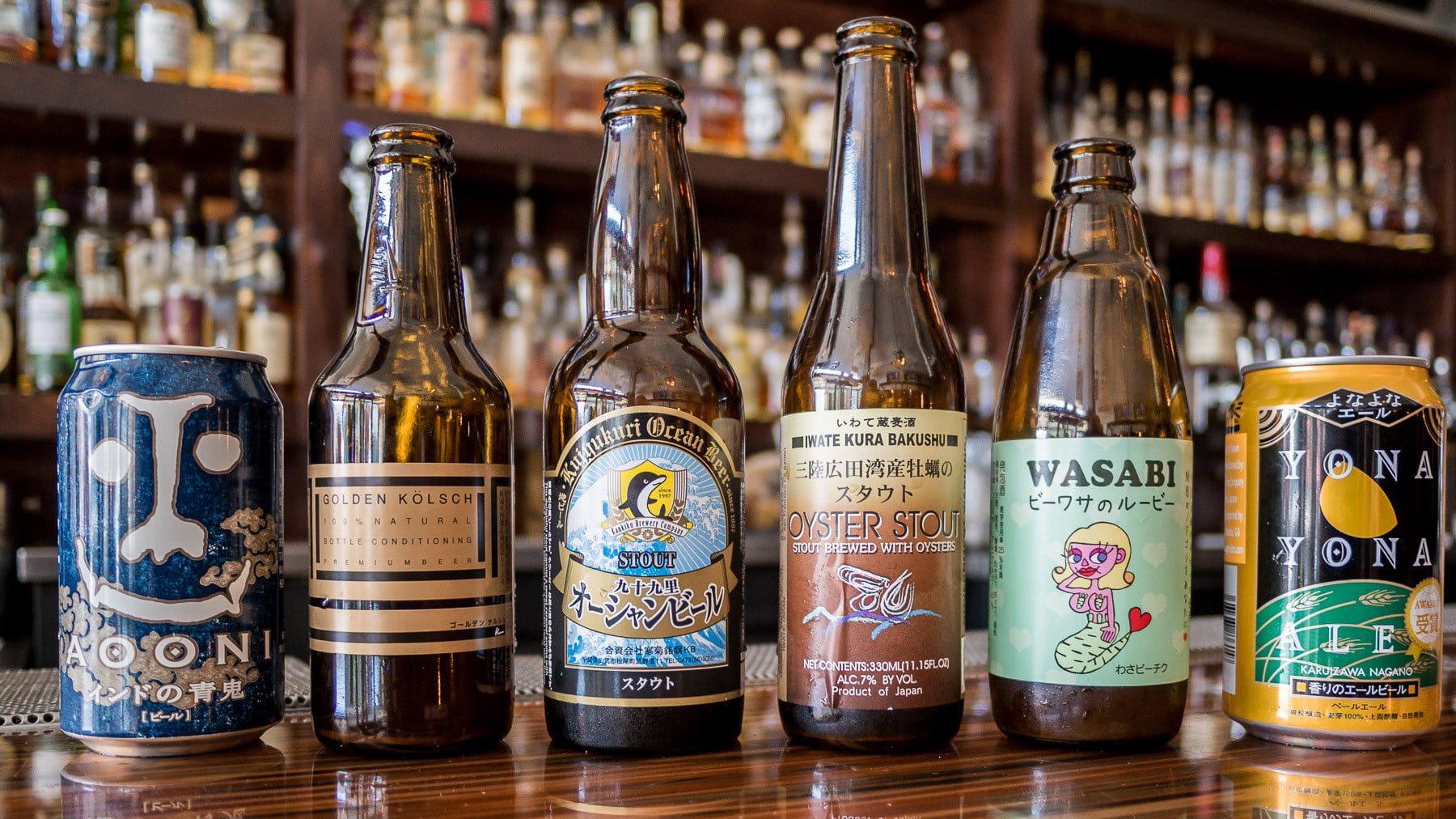 Cerveja artesanal japonesa