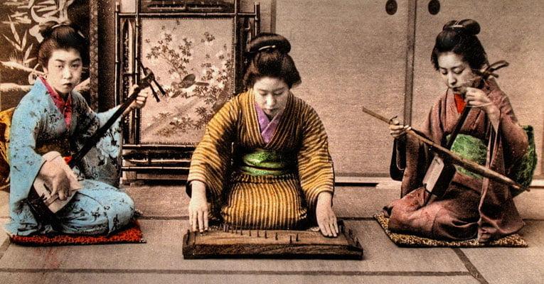 instrumentos musicais do Japão