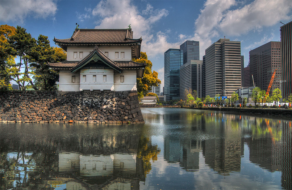 Japão moderno e tradicional