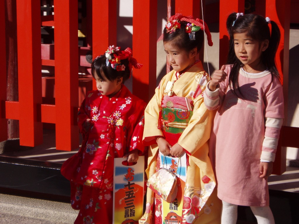 Shichigosan evento novembro no Japão