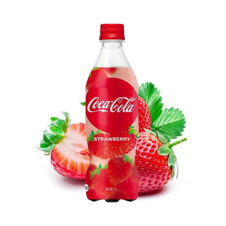 COCA-COLA Morango Strawberry
