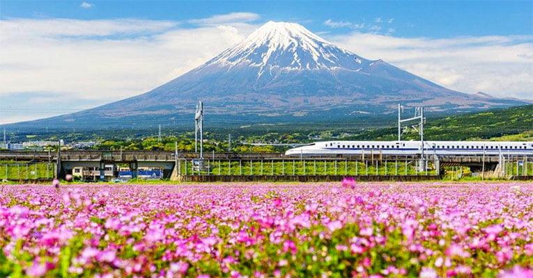 shinkansen fujisan