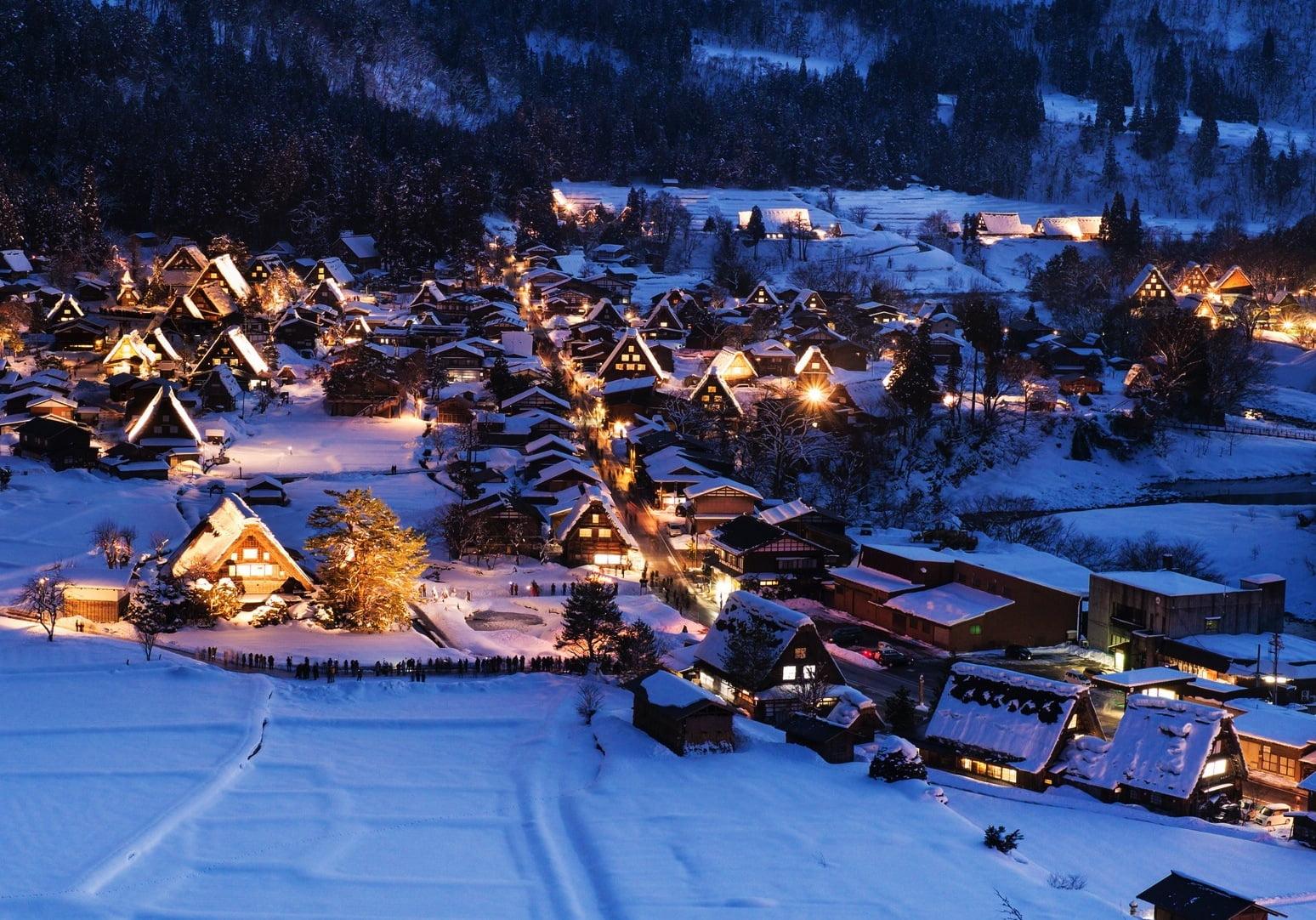 inverno no Japão capa