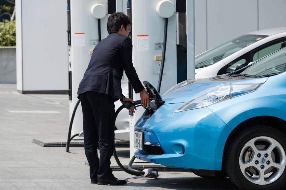 Carro elétrico no Japão