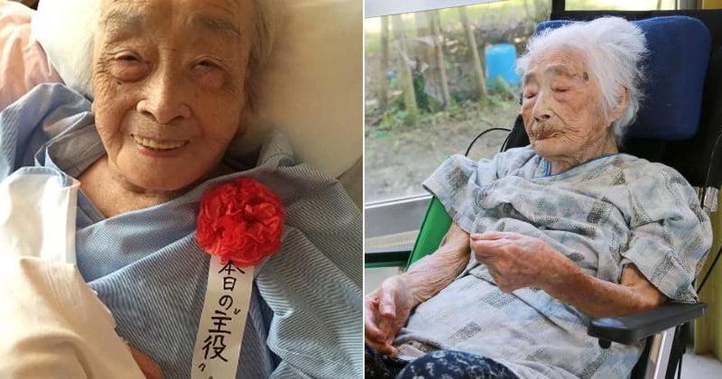 Nabi Tajima - mulher mais velha do mundo