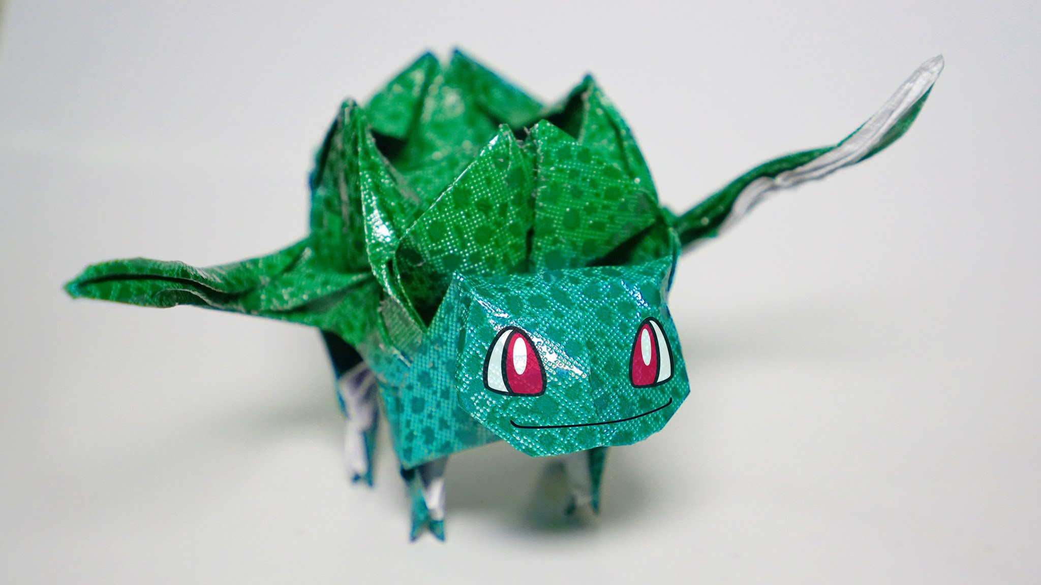 origami do pokemon bulbassauro