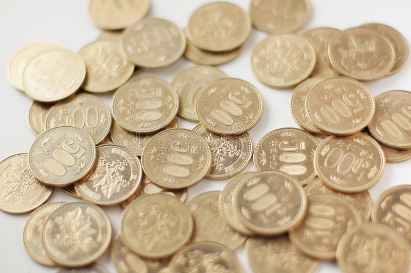 moeda de 500 ienes no Japão