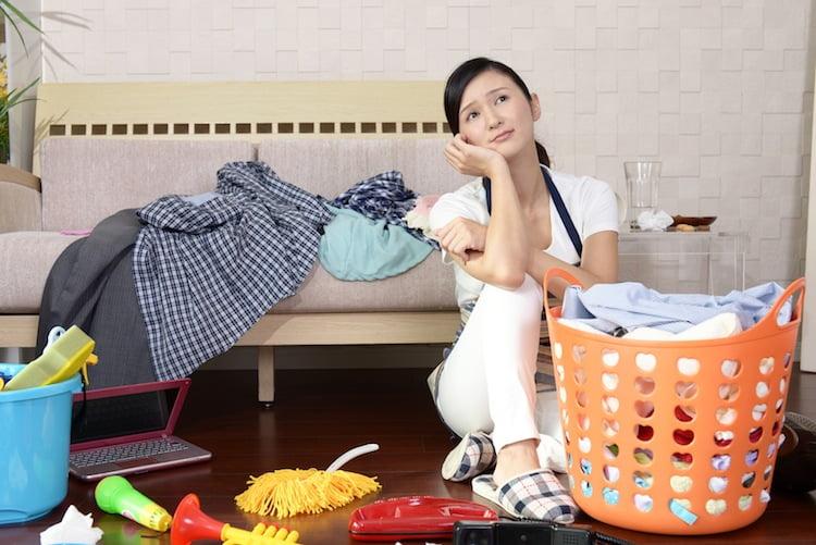 dona de casa no Japão