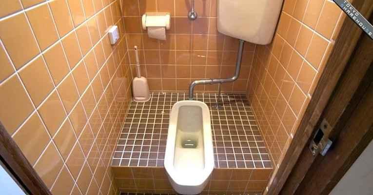 banheiro tradicional do Japão