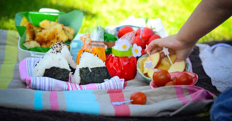 picnic no Japão