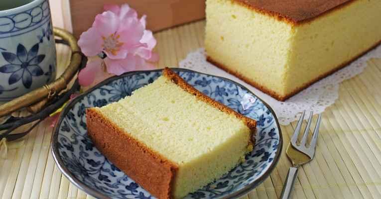 Kasutera - bolo japonês