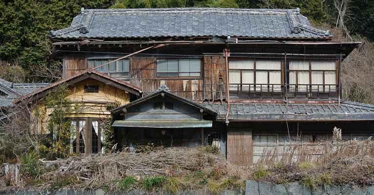 Akiya - casas abandonadas no Japão