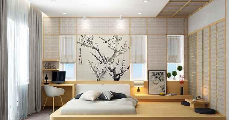 decoração minimalista japonesa