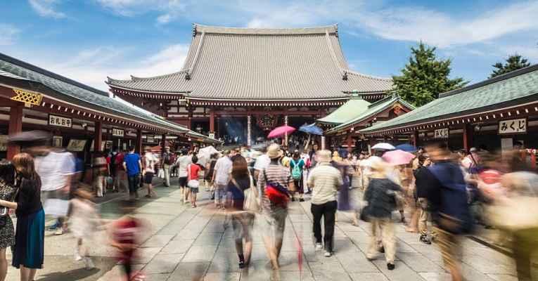 visitar o Japão