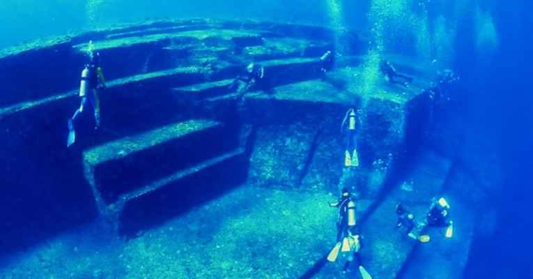 ruínas Yonaguni