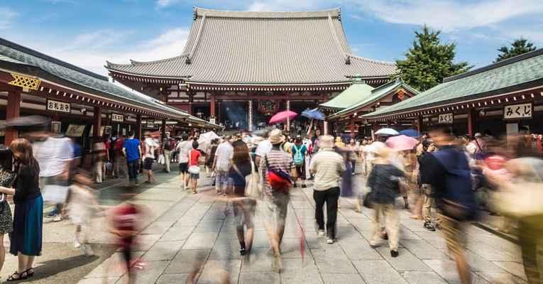 Turismo no Japão bate recorde