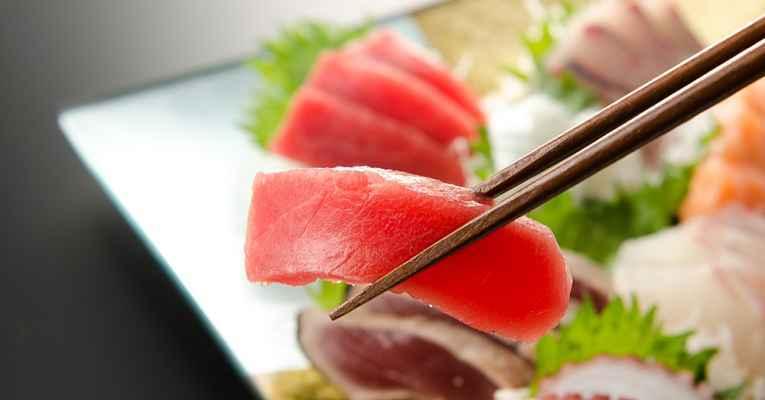 Tipos de sashimi