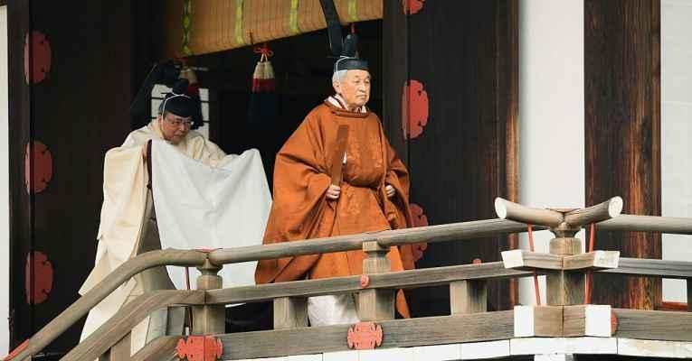 Abdicação Imperador Akihito