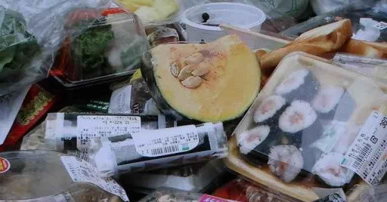Comida desperdiçada no Japão