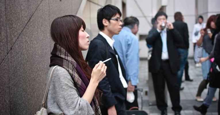 Cigarro no Japão