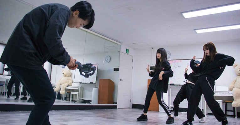 Japoneses em escolas K-pop