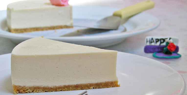 Cheesecake de tofu