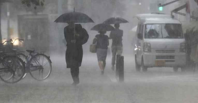 Chuva em Kyushu