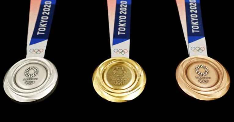 Medalhas olímpicas Tokyo 2020