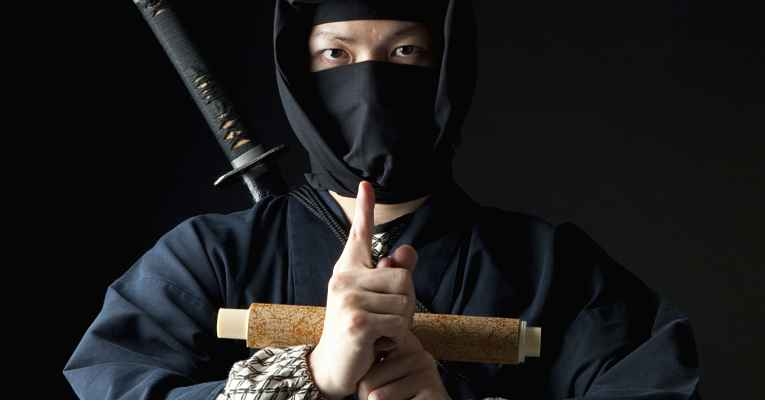 Ninjas do Japão