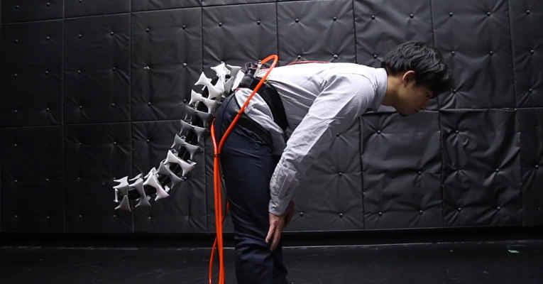 Arque cauda robótica