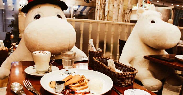 Café Moomin Japão