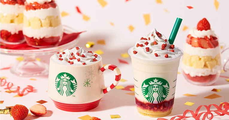 Starbucks Japão lança frappuccino de bolo