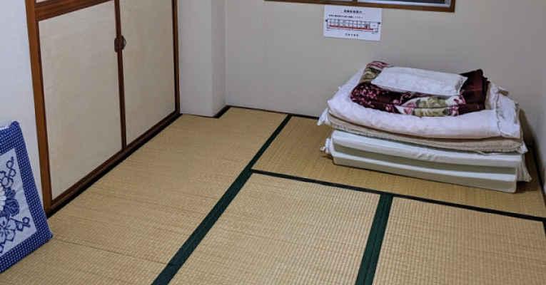 Hotel no Japão com quarto a 130 ienes