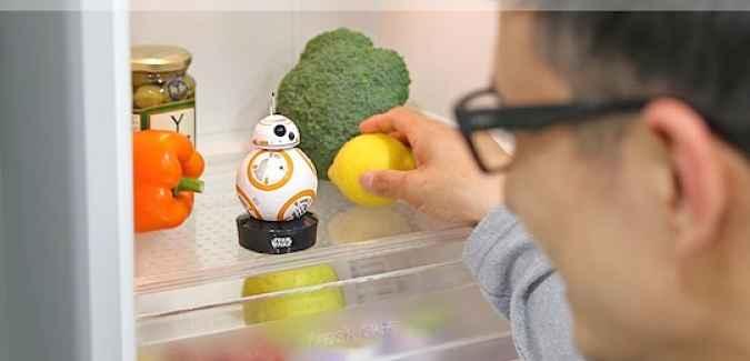 Gadget de geladeira BB8