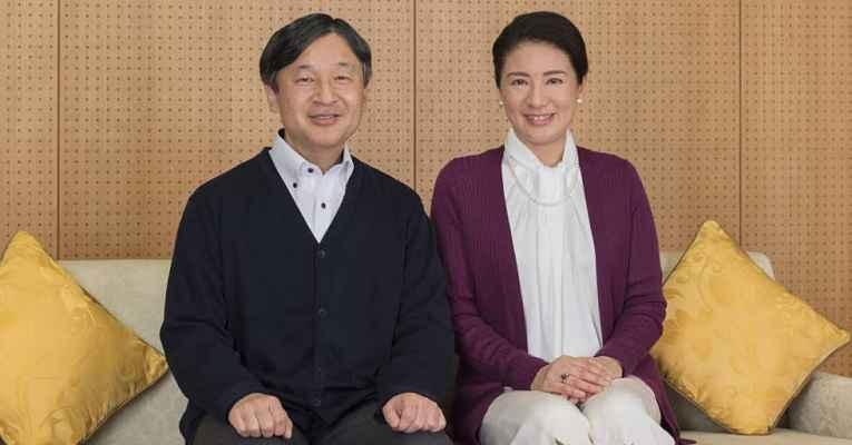 Imperatriz do Japão e Imperador Naruhito
