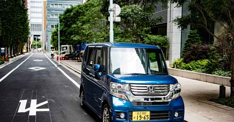 Freio automáticos em carros no Japão